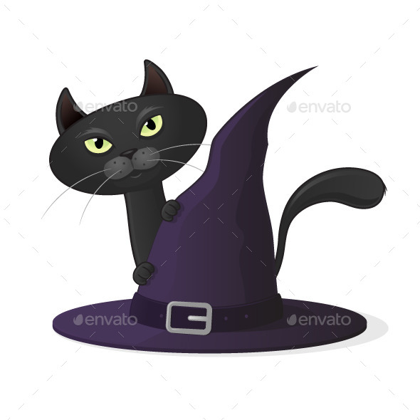 GraphicRiver Halloween Cat 8960394