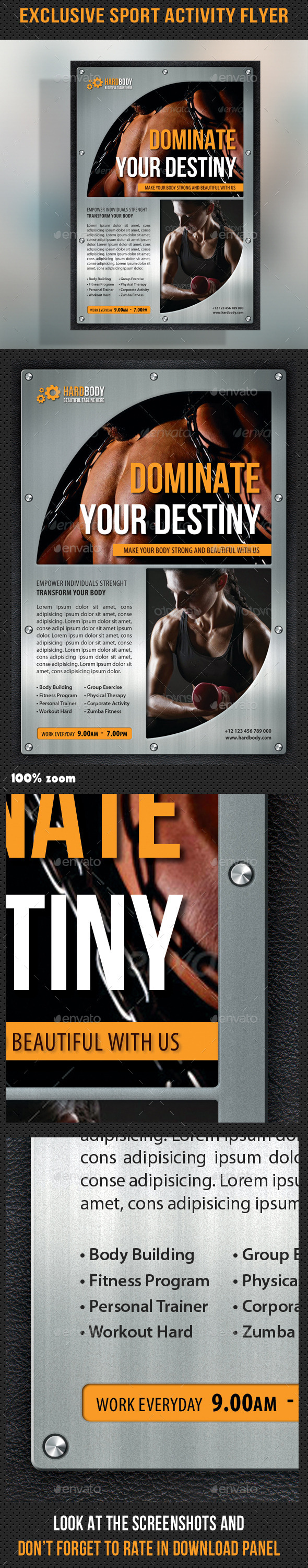 GraphicRiver Sport Multipurpose Flyer 27 8960528
