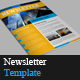 8 Pages Newsletter Template - GraphicRiver Item for Sale