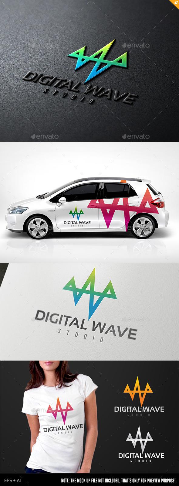 GraphicRiver Digital Wave II 8960780