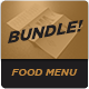 Food Menu Bundle 11 - GraphicRiver Item for Sale