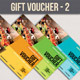 Gift Voucher - 2 - GraphicRiver Item for Sale