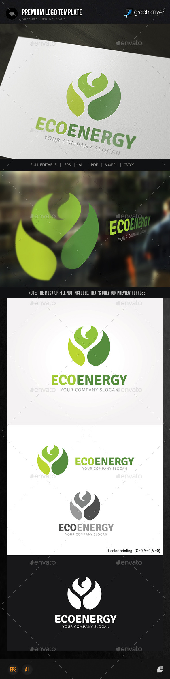 GraphicRiver Eco Energy 8961033