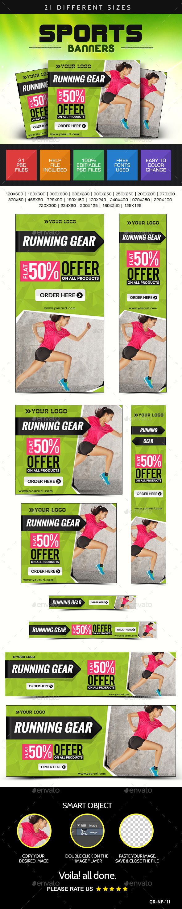 GraphicRiver Online Sports Store Web Banners 8961042