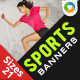 Online Sports Store Web Banners - GraphicRiver Item for Sale