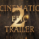 Cinematic Epic Trailer 2 - AudioJungle Item for Sale