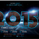 2015 New Year Flyer Template - GraphicRiver Item for Sale