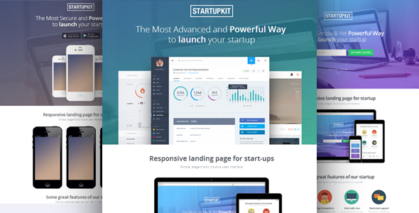 Multipurpose Landing Page Template - All in One