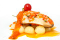 baked fish with potatoes in tomato sauce - PhotoDune Item for Sale