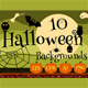 10 Halloween Game Backgrounds - GraphicRiver Item for Sale