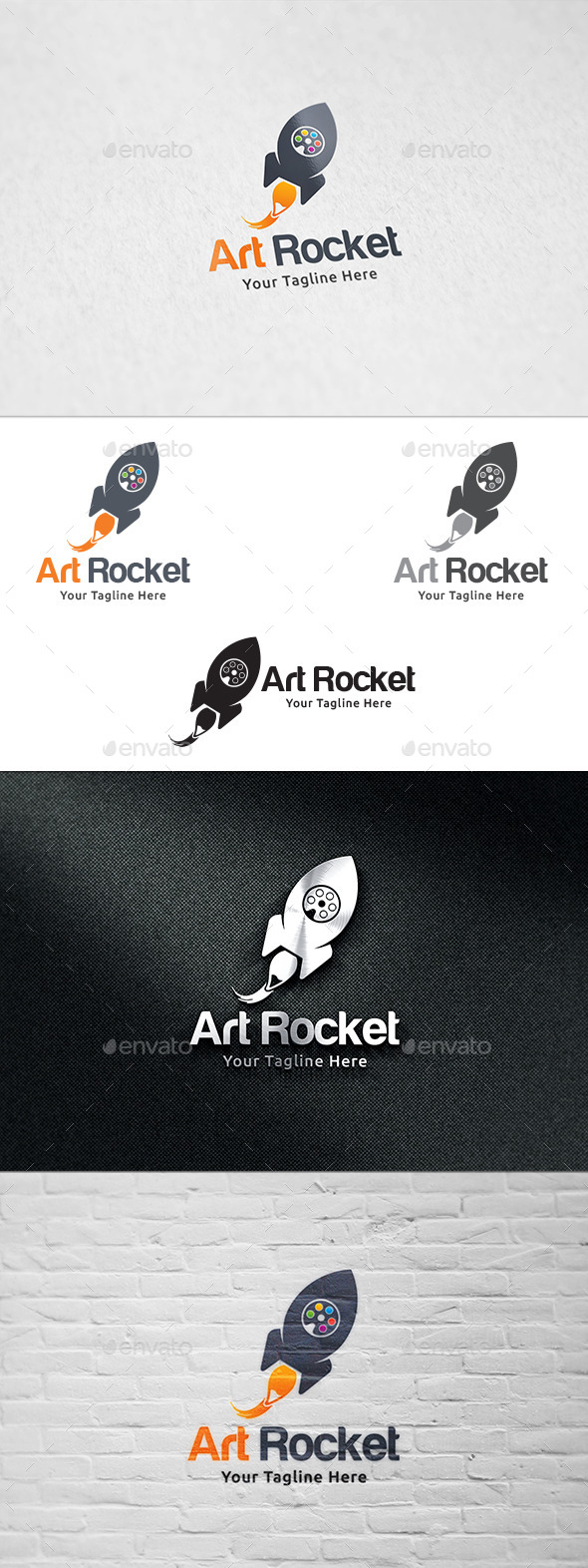 GraphicRiver Art Rocket Logo Design 8961924