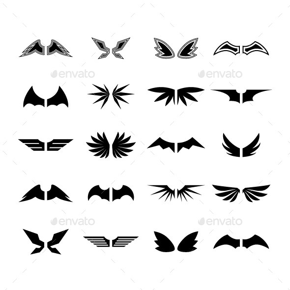 GraphicRiver Wings Vector 8962000