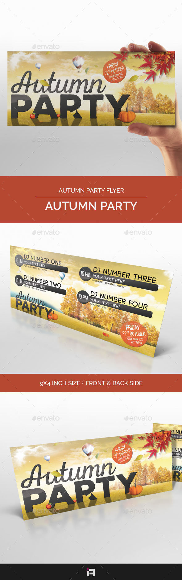 Autumn Party • Autumn Party Flyer - Clubs & Parties Events