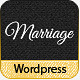 Marriage - Responsive Wedding Wordpress Theme - ThemeForest Item for Sale