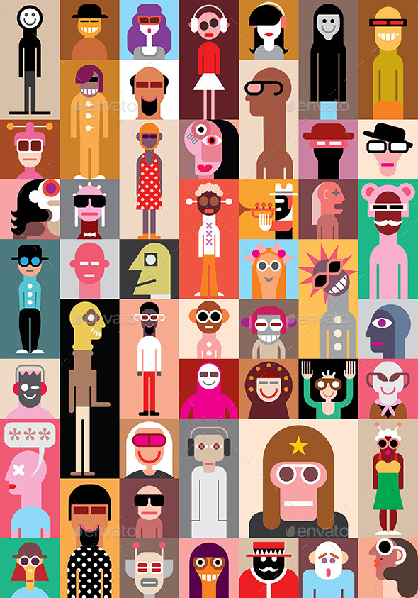 GraphicRiver Funny People 8962124