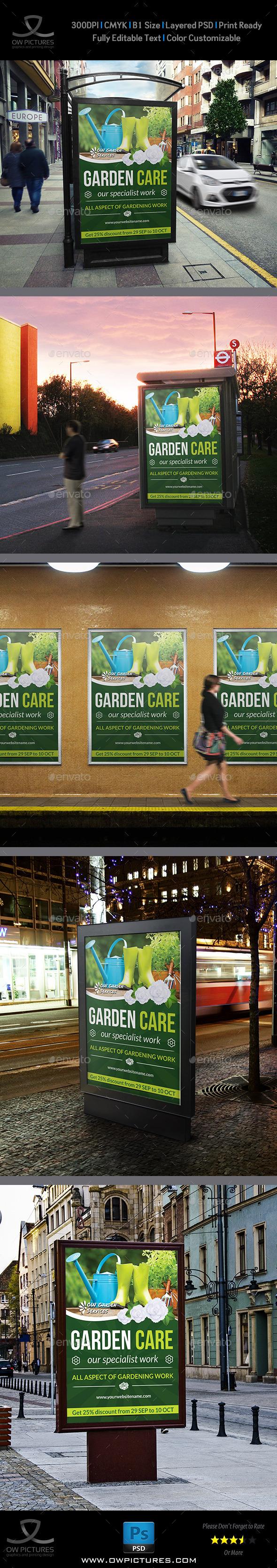 GraphicRiver Garden Poster Template 8962192