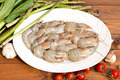 Shrimps with vegetables - PhotoDune Item for Sale
