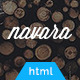 Navara - Responsive Single Page HTML Template - ThemeForest Item for Sale