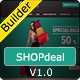 SHOPdeal - Responsive Email Template With Builder - ThemeForest Item for Sale