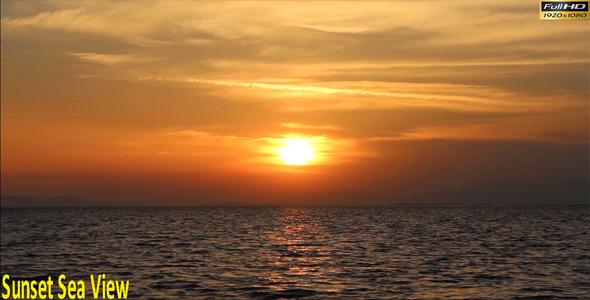 Sunset Sea View