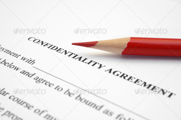 Confidential   agreement - Stock Photo - Images