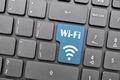 Wifi key on keyboard - PhotoDune Item for Sale