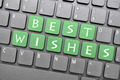 Best wishes on keyboard - PhotoDune Item for Sale