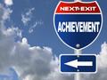 Achievement road sign - PhotoDune Item for Sale