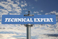 Technical expert road sign - PhotoDune Item for Sale