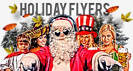 Holiday Flyers - Design Cloud