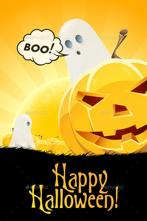 GraphicRiver Halloween Poster 8968046