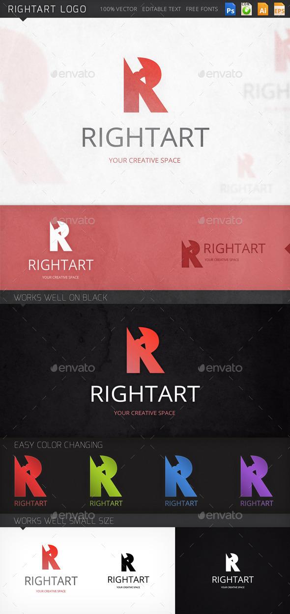 GraphicRiver Rightart Logo 8968052