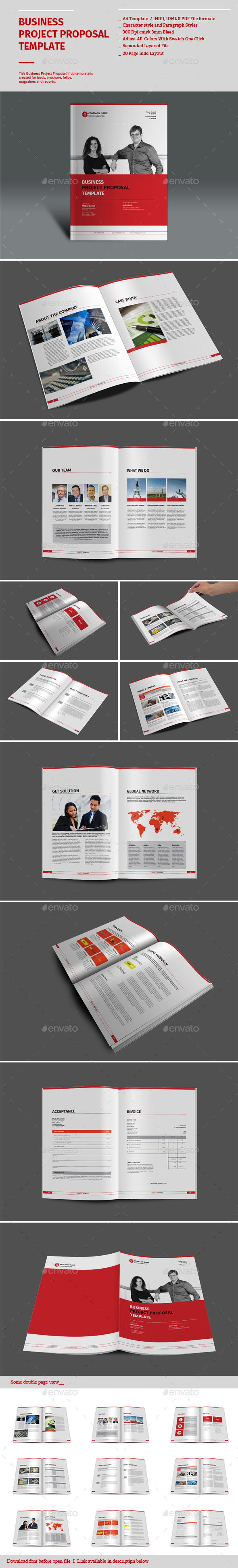 GraphicRiver Business Project Proposal Templates 8968105