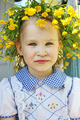 Girl in a Wreath - PhotoDune Item for Sale