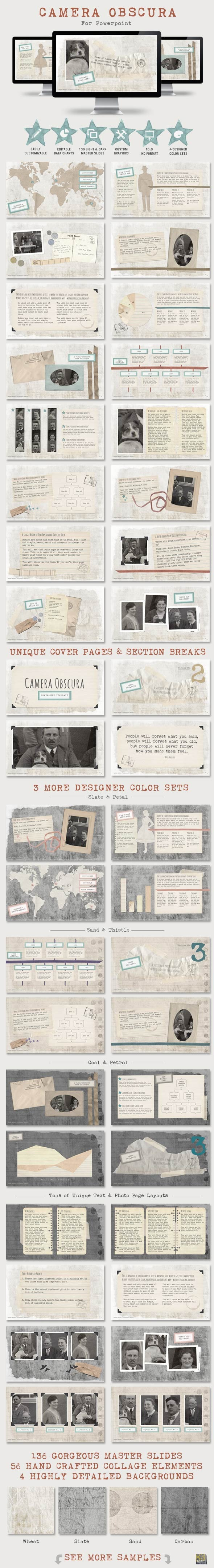 GraphicRiver Camera Obscura Powerpoint Presentation Template 8968268