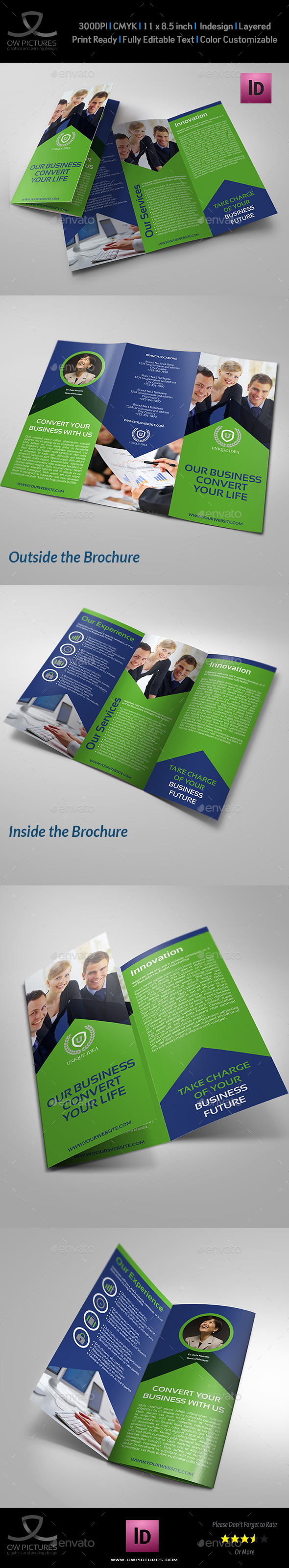 GraphicRiver Corporate Brochure Tri-Fold Template Vol.13 8968303