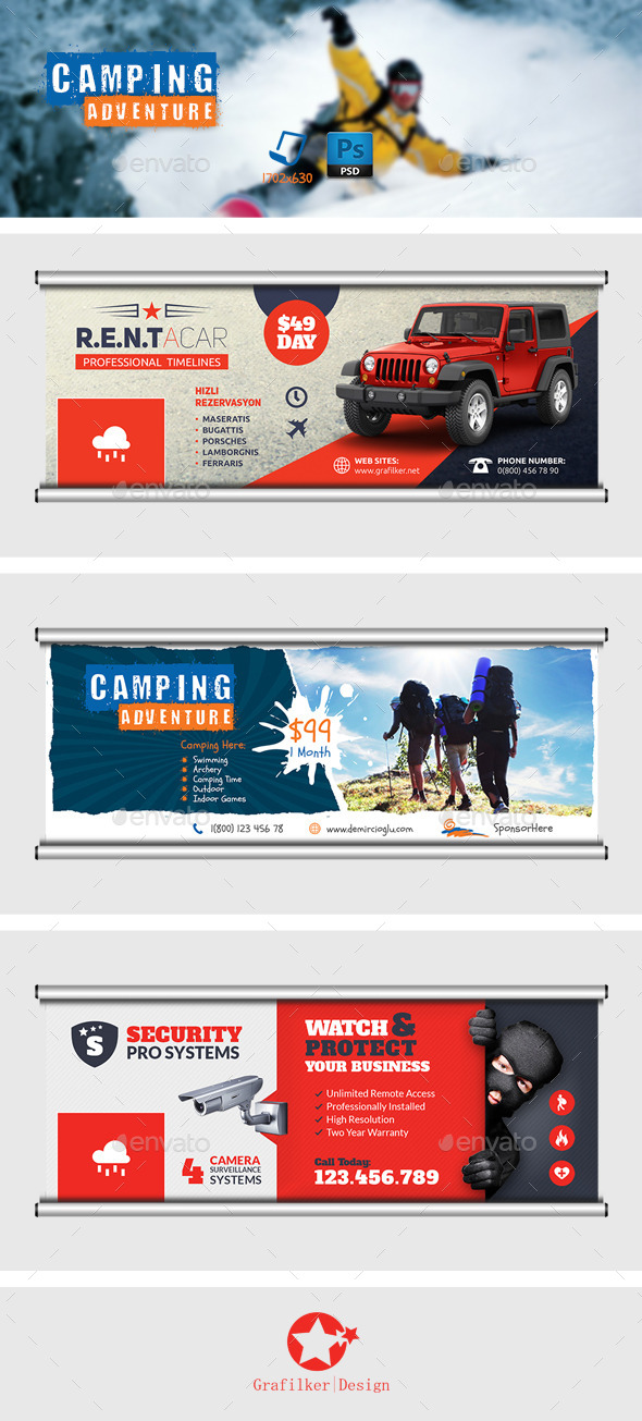 GraphicRiver Multipurpose Timeline Templates 8951522