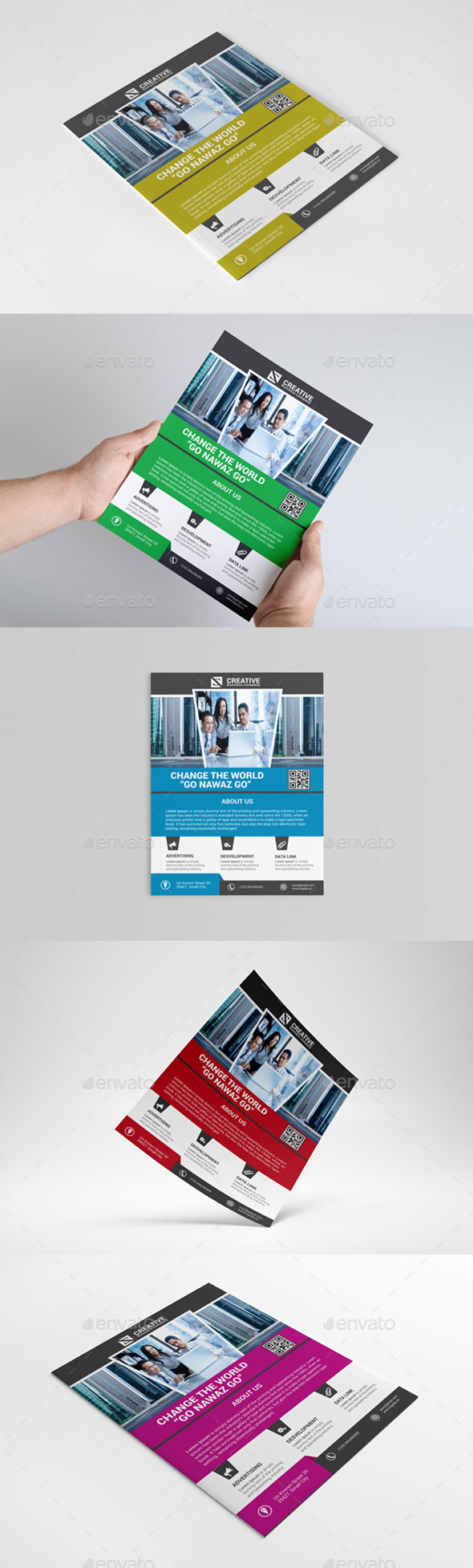 GraphicRiver Corporate Business Flyer 8968376