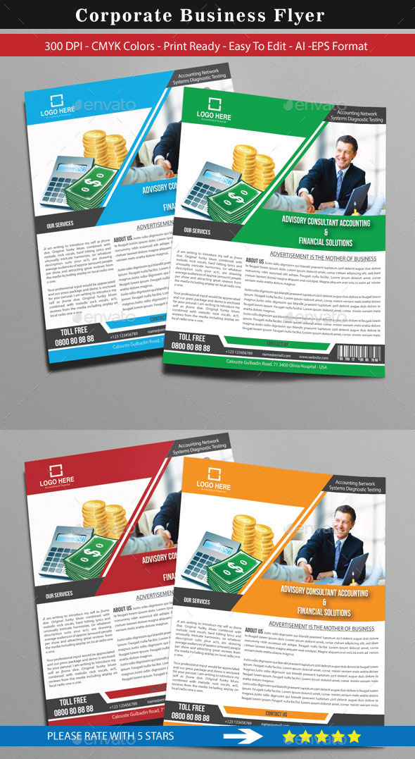 GraphicRiver Corporate Business Flyer 8968408