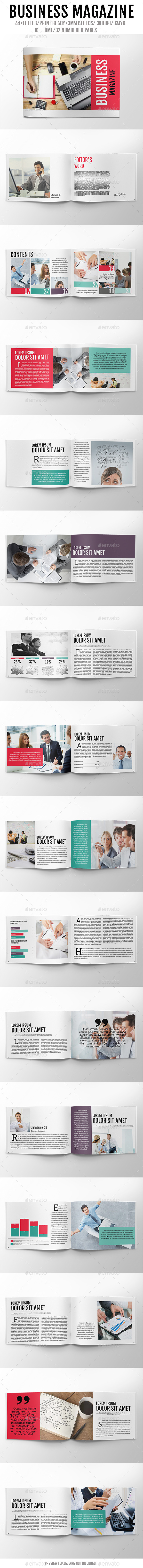 GraphicRiver Business Magazine 8946590
