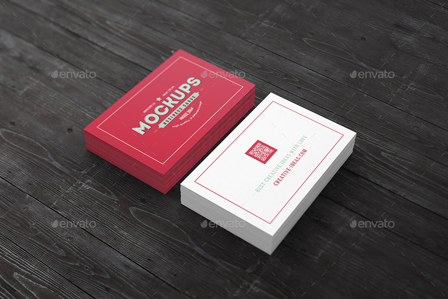 [85x55] Business Cards Mock ups by graphicbridge