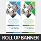 Business Rollup Banner Psd Template - GraphicRiver Item for Sale