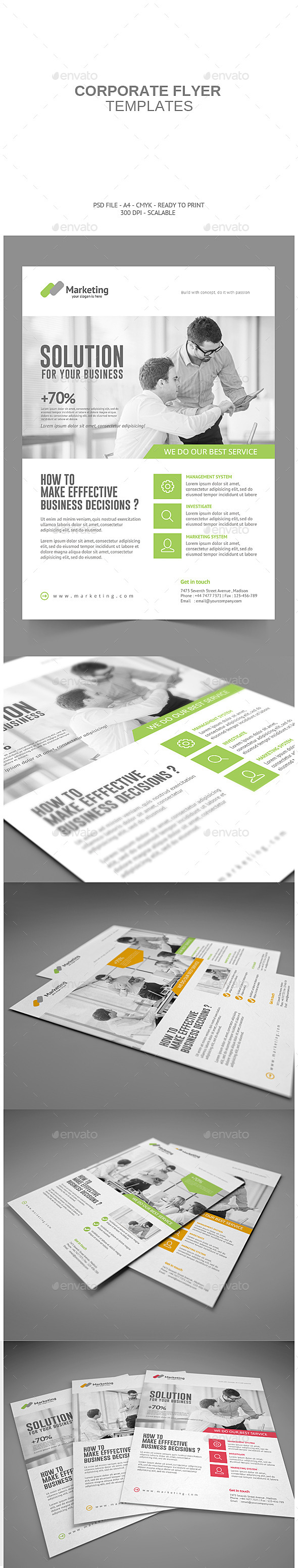 GraphicRiver Corporate Flyer 8968800