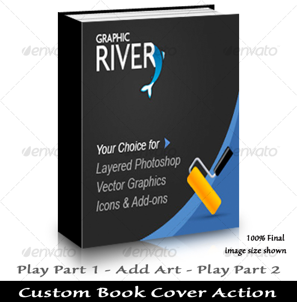 GraphicRiver HardBack Book Action 37579