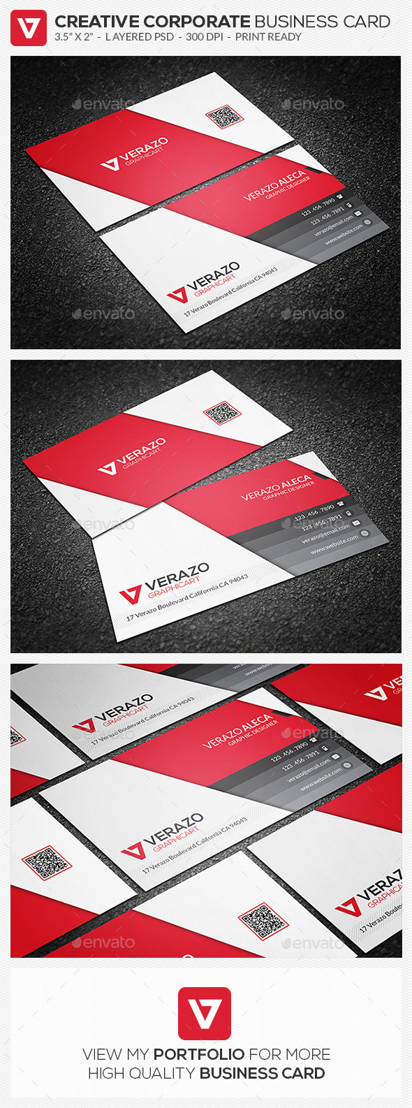 GraphicRiver Creative & Modern Corporate Business Card 62 8969110