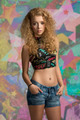 teenager girl in fashion shoot - PhotoDune Item for Sale