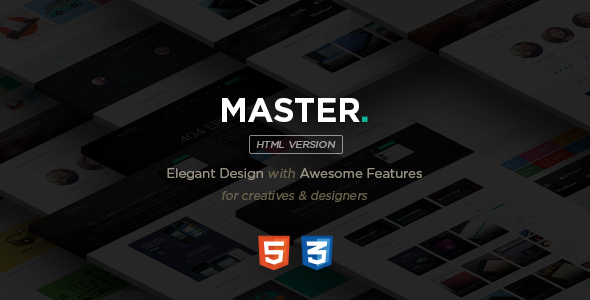 ThemeForest MASTER Corporate Multipurpose HTML Template 8942502