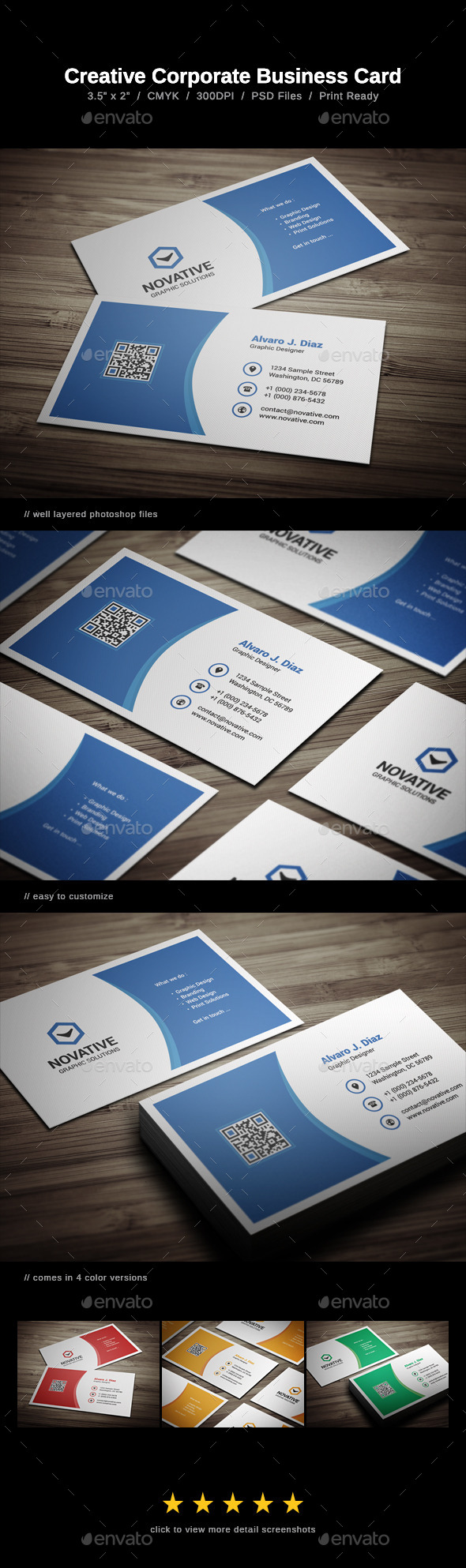GraphicRiver Creative Corporate Business Card 8969470