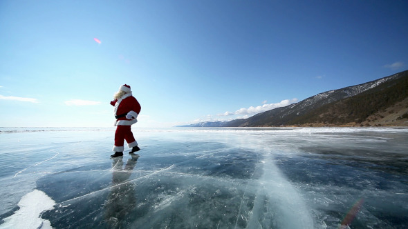 Travel Santa on Lake Baikal 7