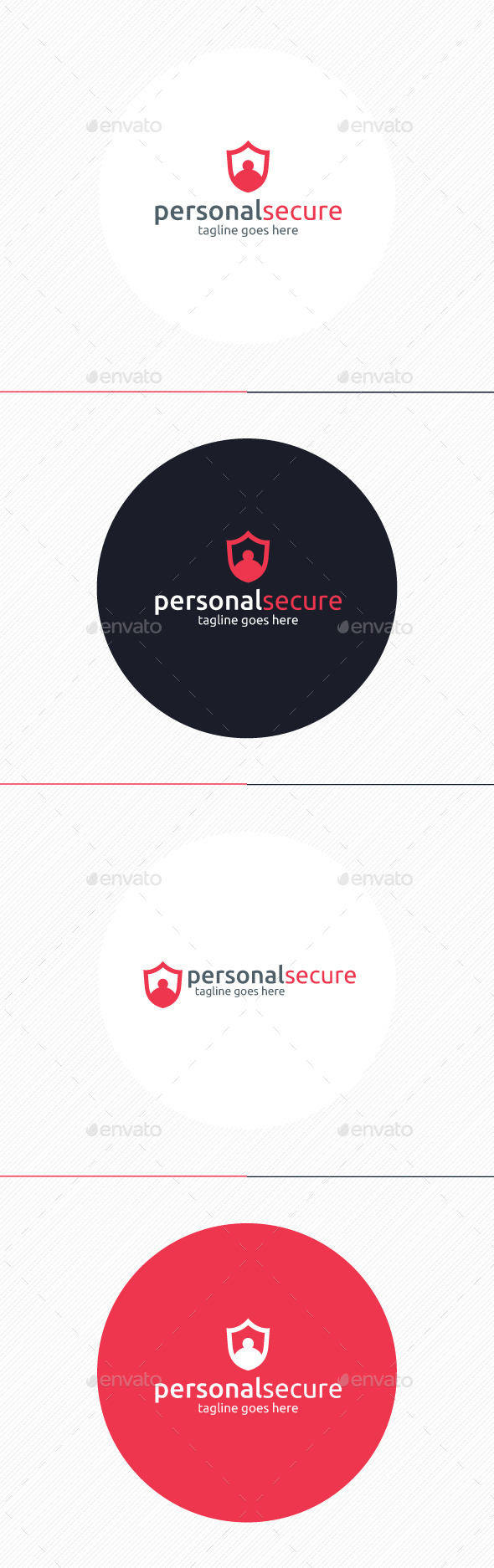 GraphicRiver Personal Secure Logo 8969949